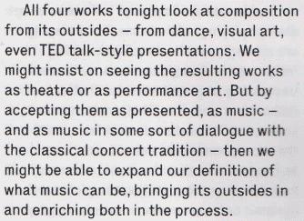 Excerpt from Robert Barry's review